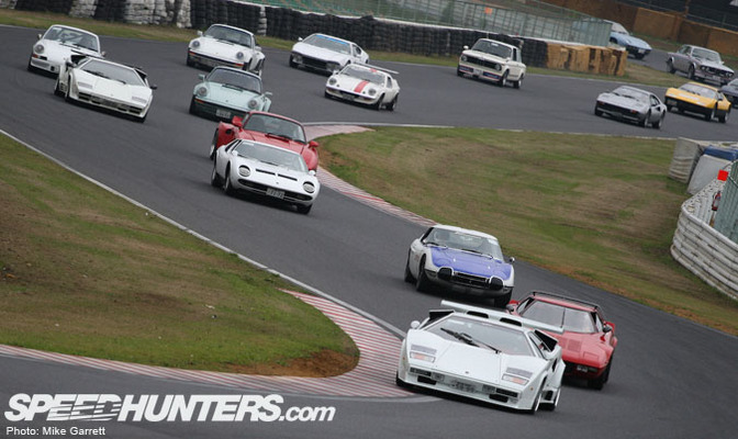 Event>>old/now Car Festival At Tsukuba Circuit