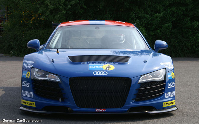 News>> Audi R8 To Enter Nurburgring 24h