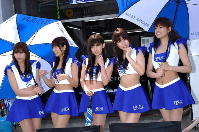 Eye Candy>>super Taikyu Race Queens At Suzuka