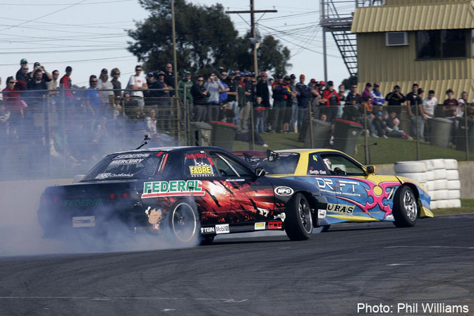 Event>>drift Australia Round Three