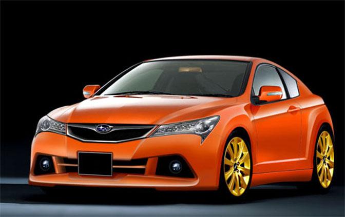 New Cars>>subaru/toyota FrCoupe