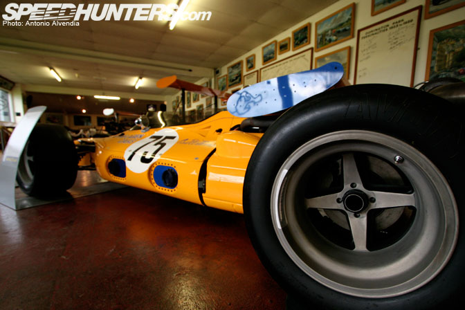 Museums>> Donington Collection Of Gp Wheels!