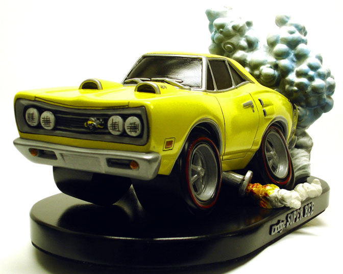 Collectables>>'69 Dodge Superbee From Bent Rod