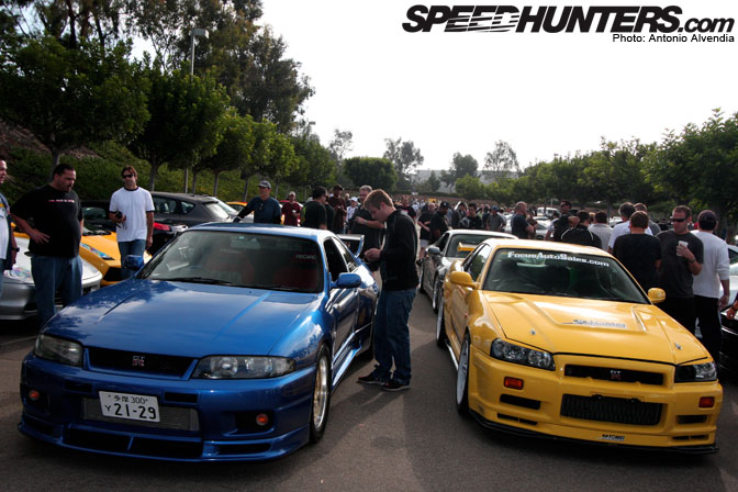 event skylines invade cars coffee meeting