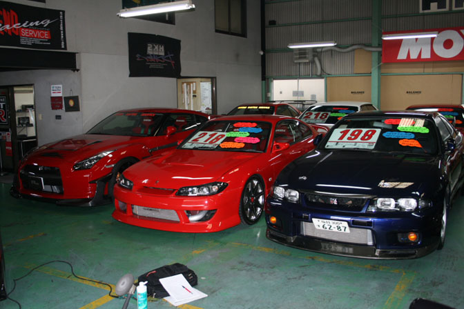 car builder garage defend speedhunters