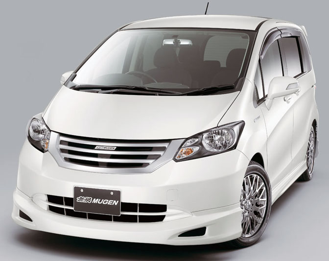 New Cars>>honda Freed By Mugen