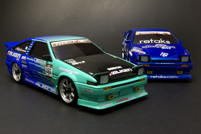 Rc>>formula D Ae86's From Kyosho