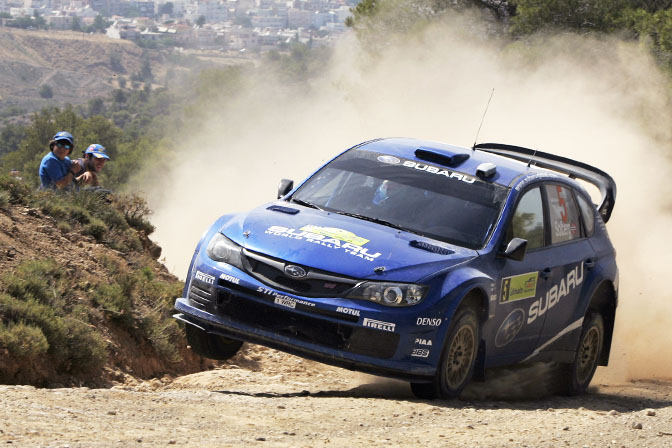 News>> Podium For Subaru On New CarDebut