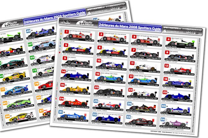 News>> Le Mans SpottersGuide