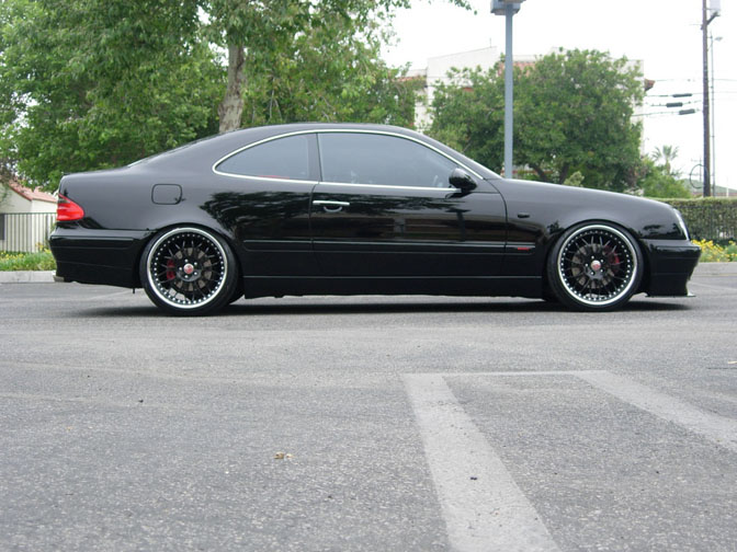 Car spotlight bippu mercedes clk speedhunters for How long does it take to build a mercedes benz