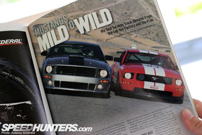 Magazines>> Grassroots Motorsports MustangIssue