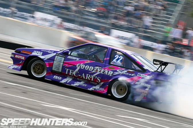 Car Feature>>tec-arts D1 Ae86