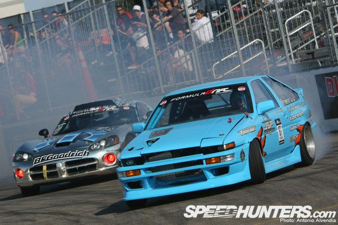 Event>> Formula D Brings Heat ToVegas!