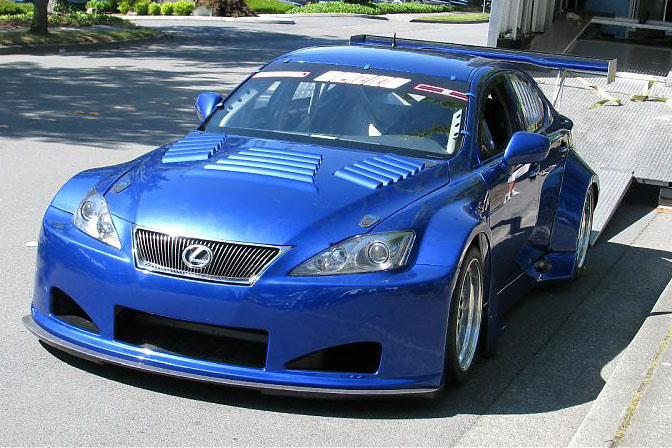 News>>lexus Is-f Makes Racing Debut At Mid Ohio
