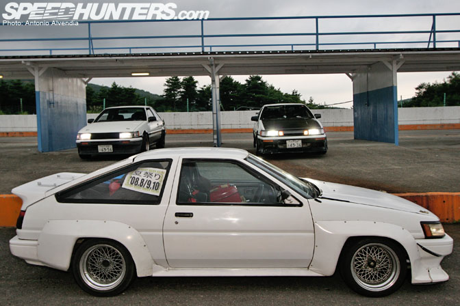 Car Spotlight>> Ae86s At EbisuWest