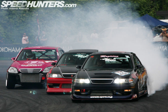 Event Pure Drifting Action At Msc Speedhunters