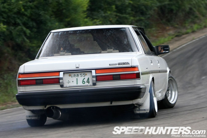 Car Feature>> Gx71 Cresta At Ebisu Touge