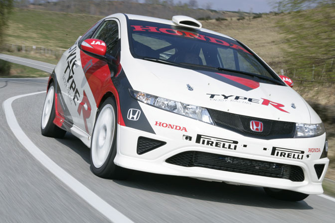 Car Spotlight>>jas Mototsport Honda Civic Type-r R3
