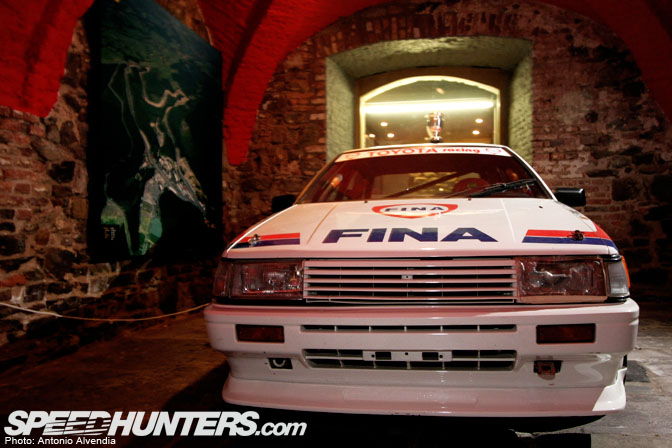 Car Feature>> Unearthing The Spa 24h Ae86!!!