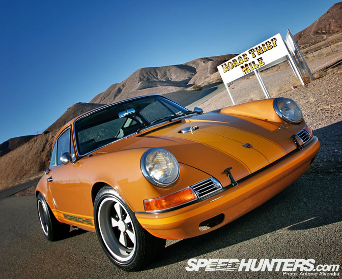 Car Feature>> Cafe Racer 1969 Porsche 911e