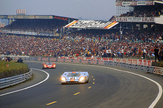 Retrospective>>porsche, Le Mans And Me