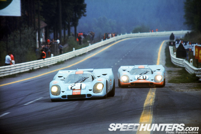 Temple Of Speed>> Spa: The Old Circuit And The Porsche917
