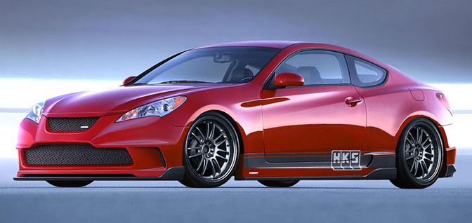 News>> Hks Hyundai GenesisCoupe