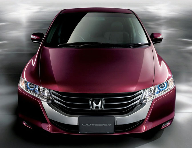 New Cars>>redesigned Jdm HondaOdyssey
