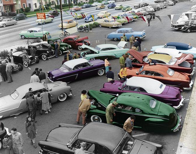 Photo Roll>> Rik Hoving Custom Car PhotoArchive