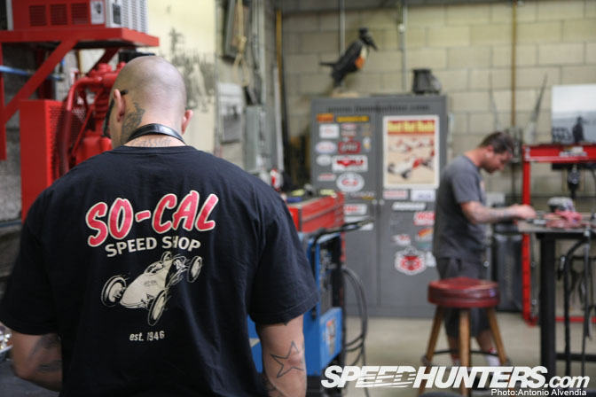 Car Builder>>jimmy Shine & The So-cal Speed Shop Pt2