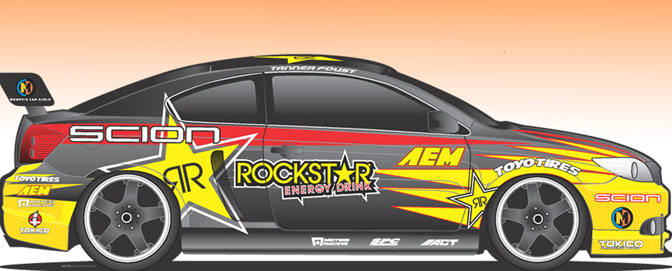 News>> New Scion Drifting Team For2009!