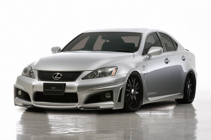 New Cars>>lexus Is-f By Wald