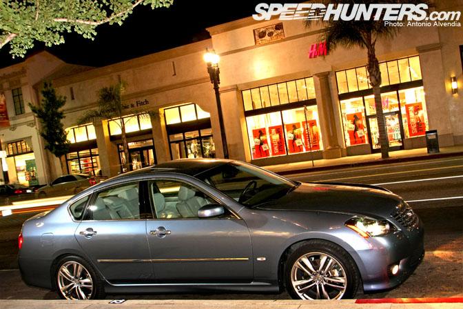 Driving Impression 2008 Infiniti M45 Sport Speedhunters