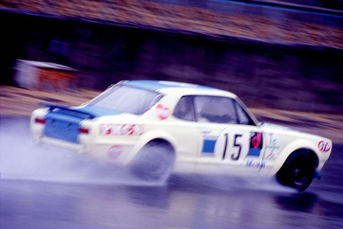 Random Snap>>hakosuka In The Rain At Fuji1972