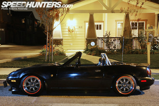 Car Feature>> Turbo Tony's Miata Flamethrower