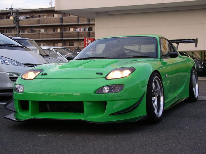 Car Spotlightu003eu003e Uras Fd Rx7