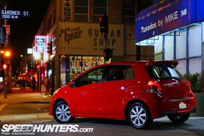 Driving Impression>> 2009 Toyota Yaris TypeS