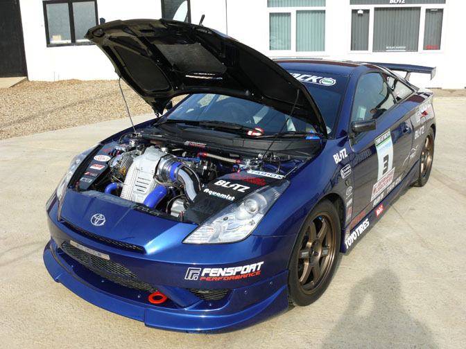 Car Spotlight>> Fensport Awd Celica