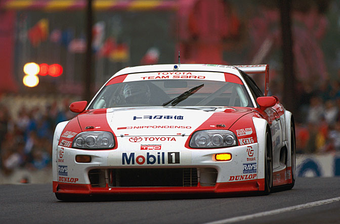 Retrospective Gt Gt Toyota Supra Gt Lm At Le Mans Speedhunters