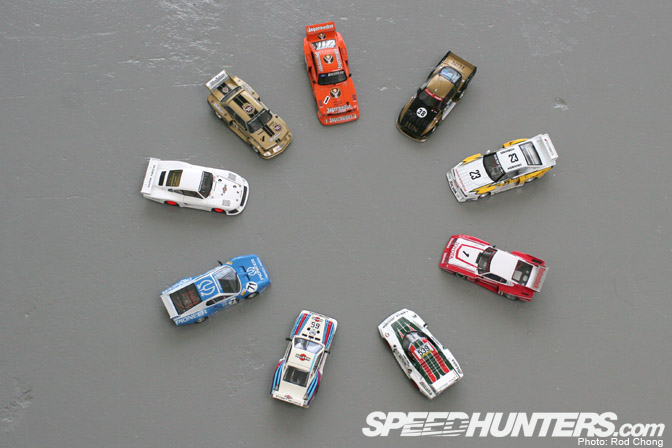 Collectables>> My 1/43 Group 5 Diecasts