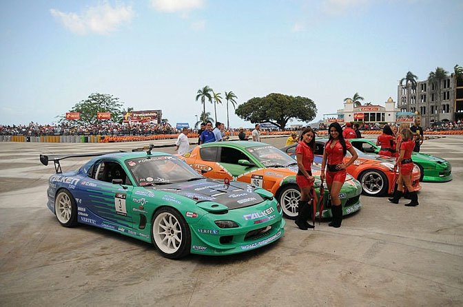 Drivers Blog: Calvin Wan>> Panama Drift Demo '09