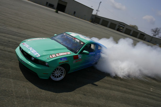 Gallery>> Testing The 2010 Falken Tire FordMustang