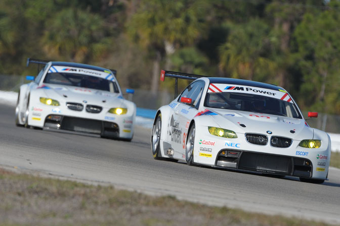 Porsche And Ferrari Have Added Competition From BMW In 2009 With Two Works Entries Rahal Letterman Racing