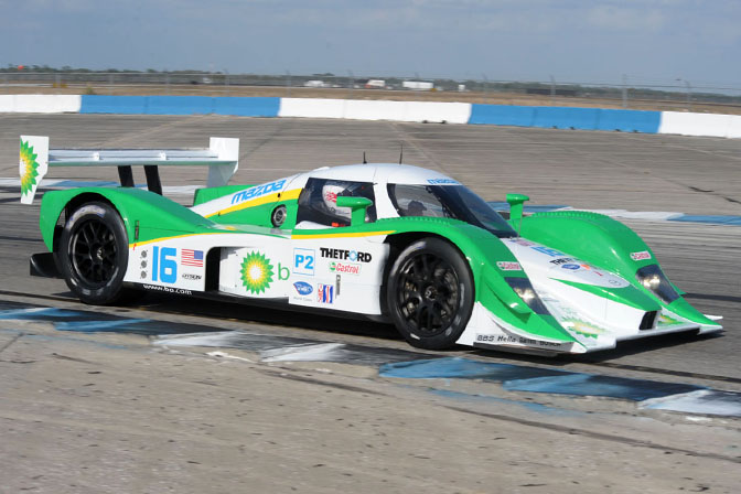 Unlike The Other Acura Teams Lowes Sponsored Team Chose To Stay In LM P2 For 2009 Season