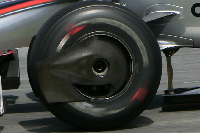 Random Snap>> The Future Is Here Pt.4: Mp4-24 BrakeDuct