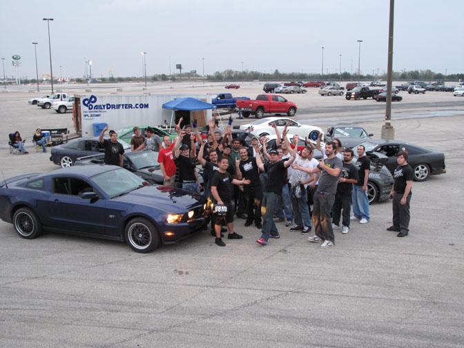 Drivers Blog: Vaughn Gittin Jr>> Cross Country Trek In A 2010 MustangGt