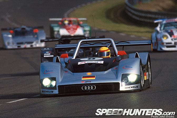 Retrospective>>audi At Le Mans1999
