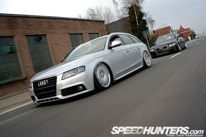 Car Feature>> Aired Audi B8 A4 Wagons