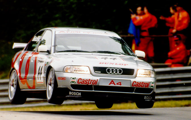 Retrospective>>the Audi Tin-topYears