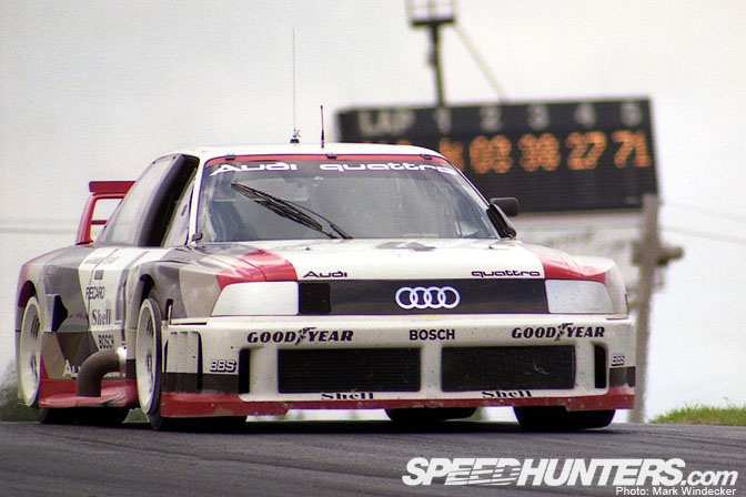 Retrospective>> Quattro Firepower: The Imsa Audi 90 Gto